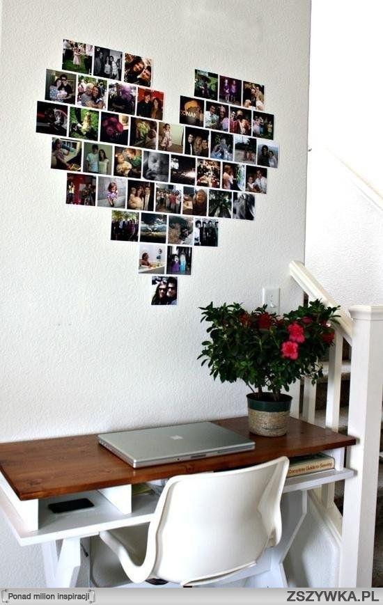ik hang liever mijn foto's op dan ze weg te steken want mijn familie en vrienden zijn mij dierbaar