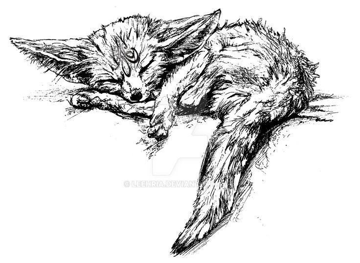 Fennec Fox by leehria, 2016