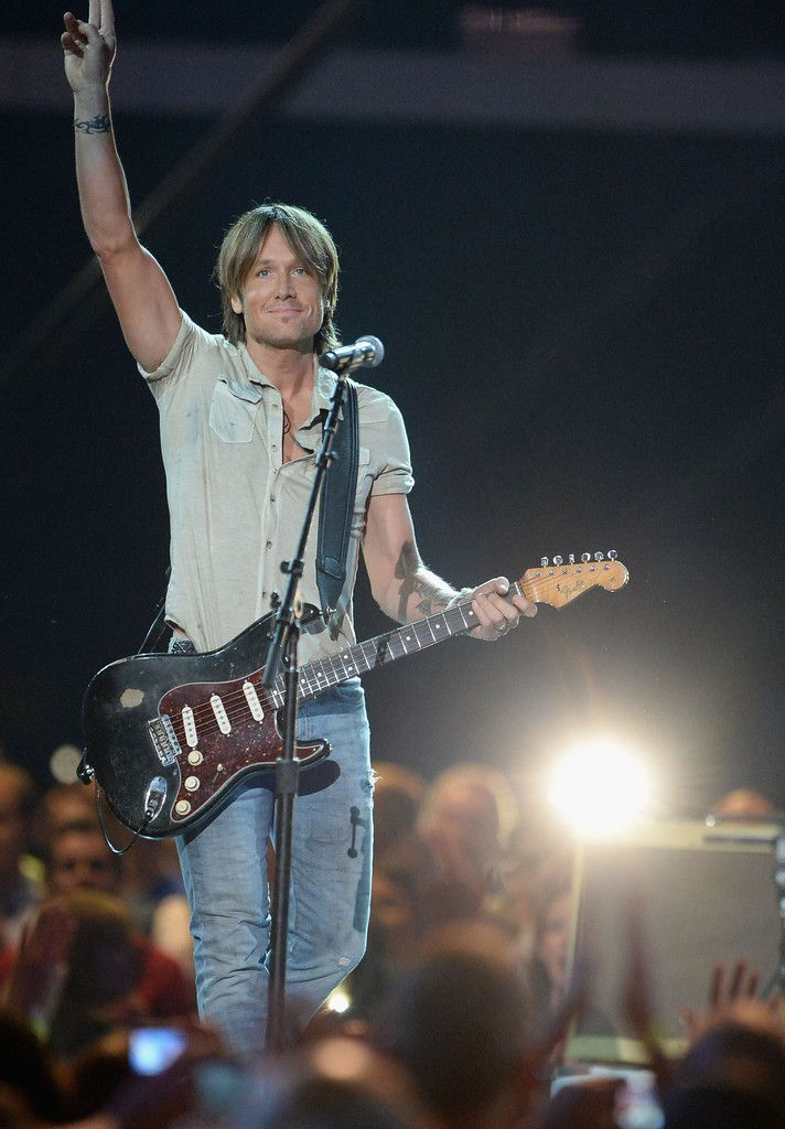 Keith Urban - The CMT Music Awards in Nashville