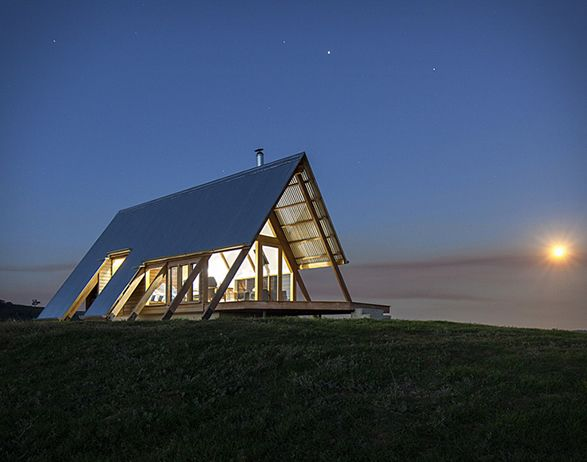 Kimo Hut Architecture A Frame House Country House