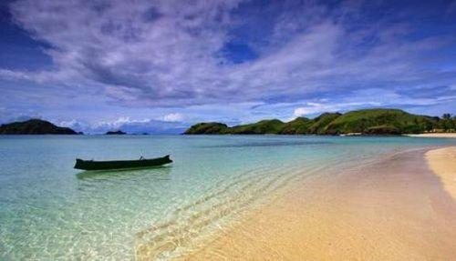pantai kuta di lombok selatan