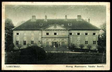 Németboly Herceg Montenuovo Nándor kastély | Képeslapok | Hungaricana