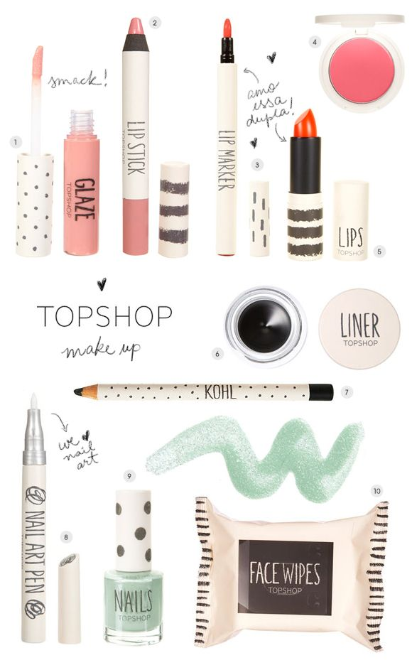 Topshop Make Up | Achados da Bia - http://www.achadosdabia.com.br/2012/10/03/topshop-make-up/