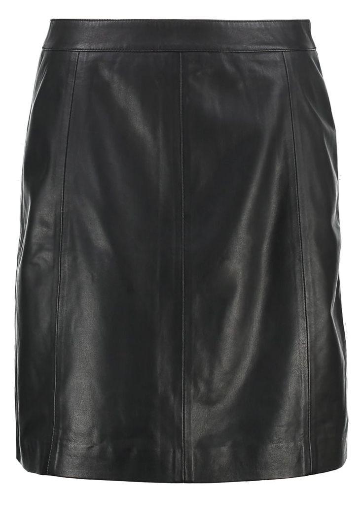 bestil More & More Lædernederdele - black til kr 1.035,00 (26-01-17). Køb hos Zalando og få gratis levering.