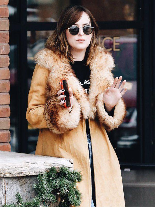 Dakota Johnson In Aspen                                                                                                                                                                                 More