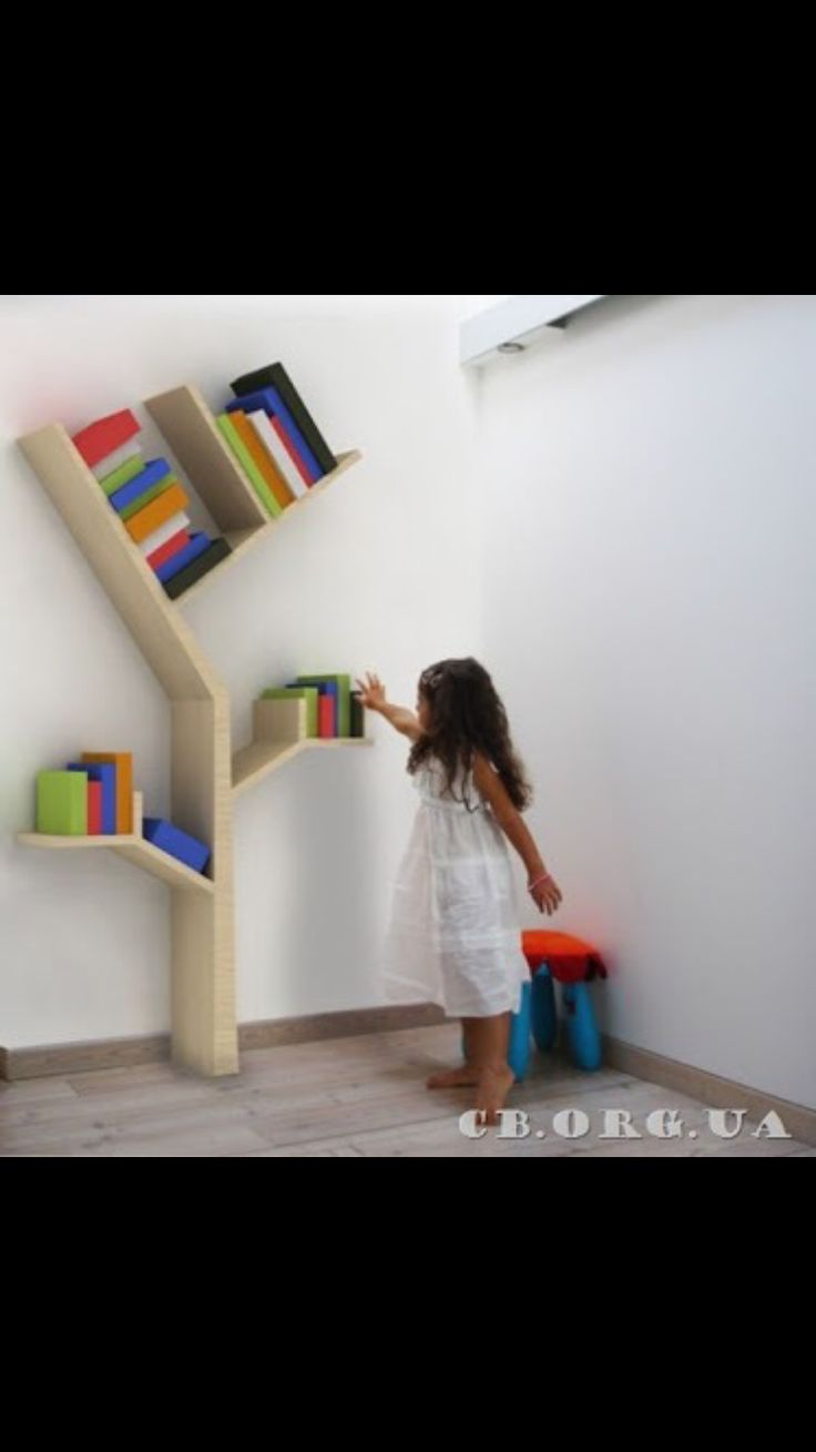 Tree Bookshelf, Bookshelves, Kids Room Shelves, Kids Rooms, Tree Bookcase,  Bookcases, Shelving, Book Shelves, Child Room