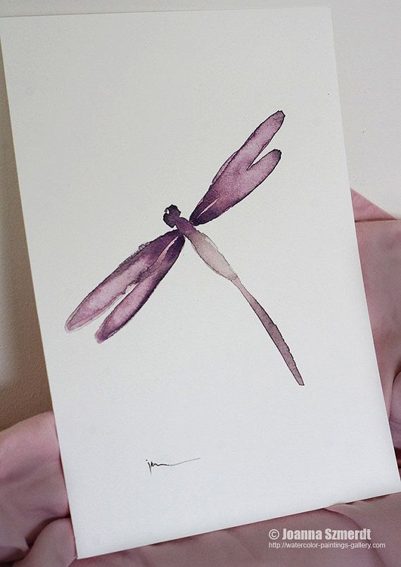 Dragonfly wall art. My interpretation of modern art print.  A simple form of this Dragonfly wall art makes the art print an unconventional and