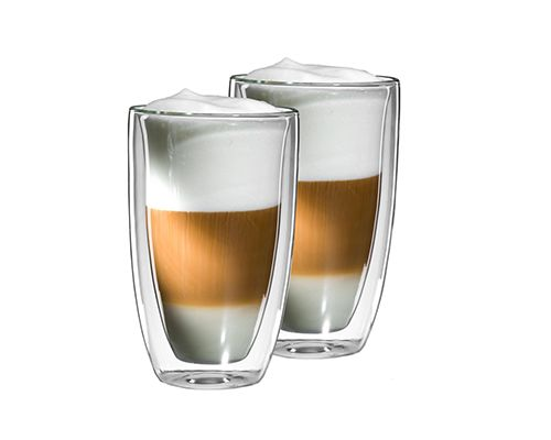Latte Macchiato glas Dubbelwandig  horecaservies