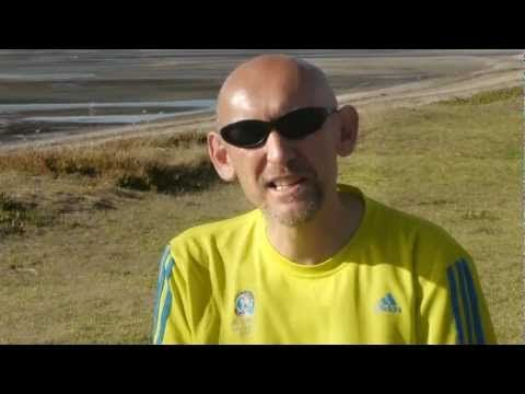 Video testimonial from a satisfied Homespun Holistics customer. Ian runs many half and full marathons and has found the Muscle Rub beneficial. More info at www.homespunholistics.com/products/product.asp?id=37=pinterest