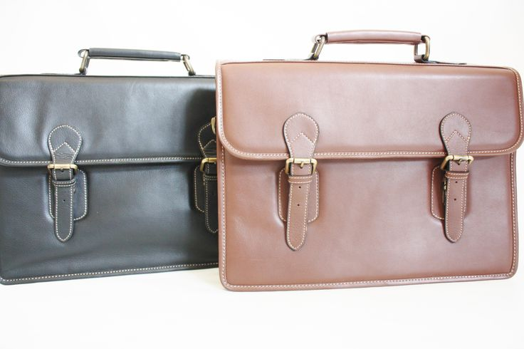 Executive bags available at LEATHEROPIA. Price:$129 CAD.