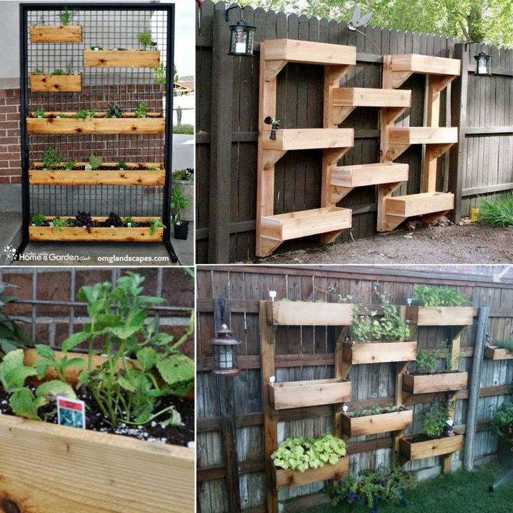 Patio Herb Garden Idea: 1000+ Ideas About Vertical Herb Gardens On Pinterest