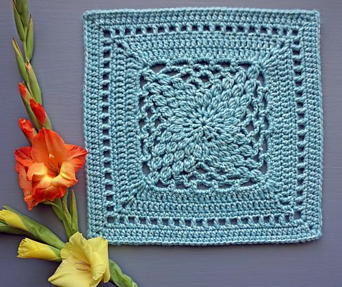 week 21 square for 2016 friends around the world crochet