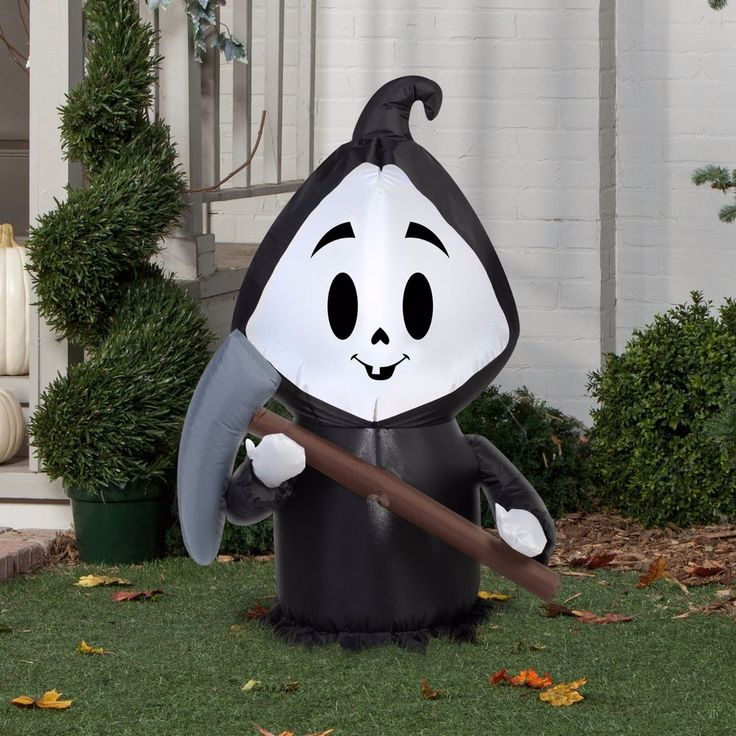 25 best ideas about halloween inflatables on pinterest for Air blown decoration