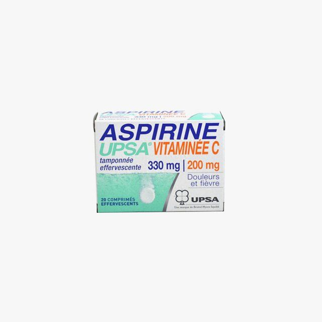 """Maya Singer, Vogue.com Contributor - """"That French drugstore aspirine with vitamin C that you dissolve in a glass of water is the ultimate hangover helper."""" UPSA Aspirin with Vitamin C Effervescent Tablets pain and fever relief, for information: moncoinsante.co.uk"""