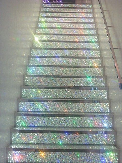 glitter stairs: Future Houses, Paris, Dreams Houses, Champs Elys, Glitter Stairs, Glitter Floors, Swarovski Crystals, Stairways To Heavens, Man Caves