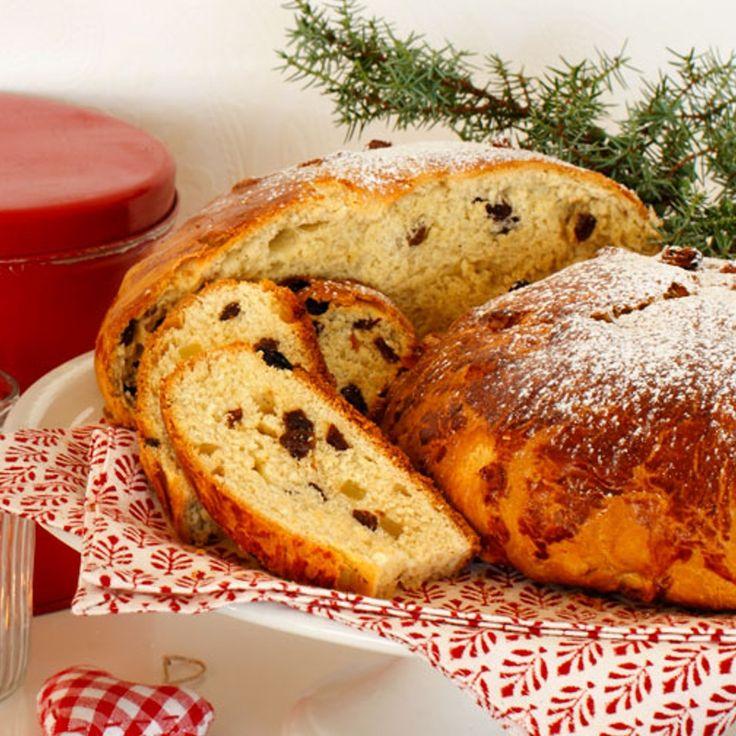 Julekake (Pão de Natal Norueguês)   Máquina de Pão