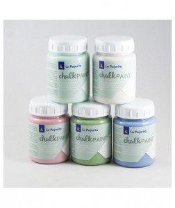 Farby kredowe La Pajarita chalkPAINT - 75 ml - mix kolorów