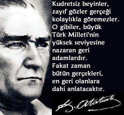 Türkiye'nin lideri Atatürk