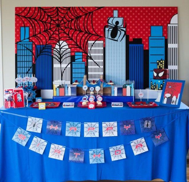 Anders Ruff Custom Designs, LLC: Spiderman Party