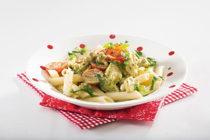Nopea broilerikastike | K-Ruoka #italia #pasta