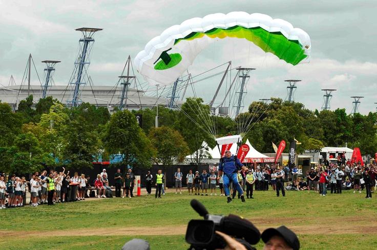 Telstra Skydiving Stunt Sydney