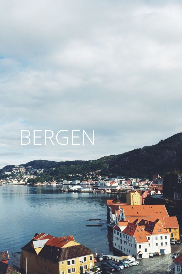 Honeymoon, part 1: a mini guide / snapshot of our 3 days in Bergen, Norway.