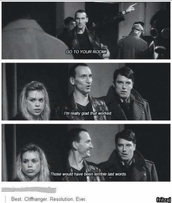 the ninth doctor was the coolest and nobody will tell me otherwise