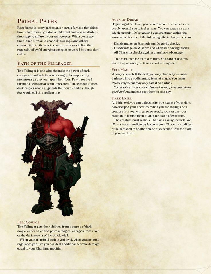 Fellrager Barbarian by Sakilla07