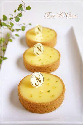 レモンタルト☆タルト・オ・シトロン   Lemon Tart☆Tarte Au Citron