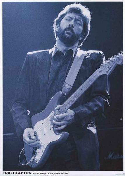 Eric Clapton Royal Albert Hall 1987 Poster 24x33 – BananaRoad