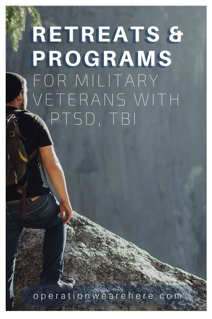 Free retreats & programs for military veterans with PTSD  or TBI