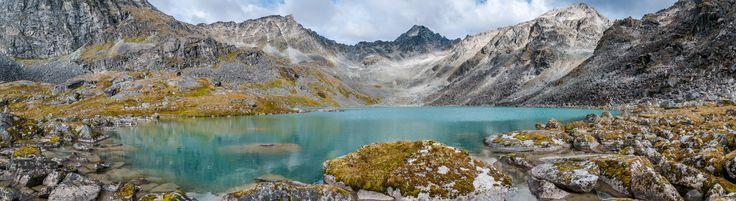 Upper Reed Lake Talkeetna Mountains Palmer Alaska [9314x2553][OC]