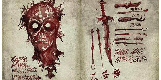 Film: Check Out A Few Pages From Ash Vs. Evil Dead's Necronomicon Ex-Mortis | G33k-HQ