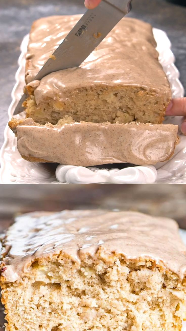 Apple Fritter Bread Is Soft And Sweet Filled With Apples