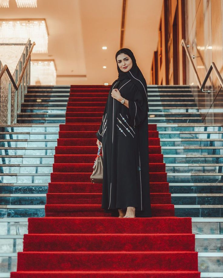 حنين الصيفي On Instagram Morning صباح الخير Ghaya Line Abaya Fashion Abaya Fashion Dubai Abayas Fashion