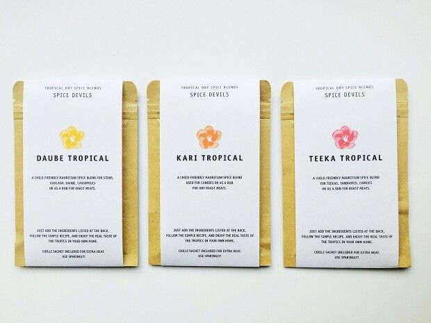 Coming Soon: New Spice Devils Packaging. Same Product, Same Great Taste