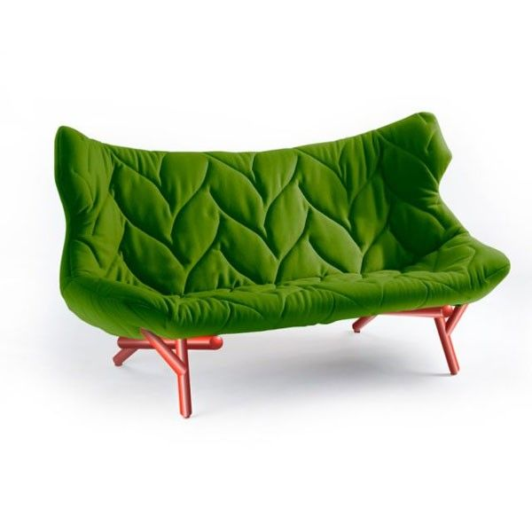 Foliage bank | Kartell - Tree / leaf couch. Retail $5830