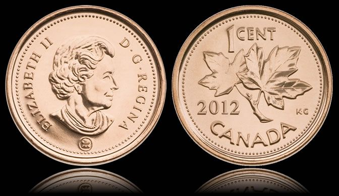 2012 marked the demise of the Canadian penny. The penny had been produced for over 150 years and has been a staple in the Canadian wallet. The phasing out of the penny will allow the Harper Government to save $11 million per year. A true historical event for Canadians.