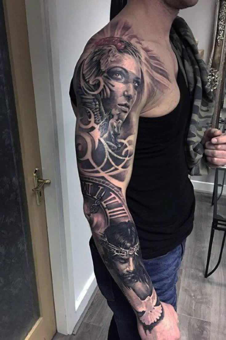 Top 53 Tattoo Cover Up Sleeve Ideas 2021 Inspiration Guide Video Video Cover Tattoo Best Cover Up Tattoos Tattoo Cover Up