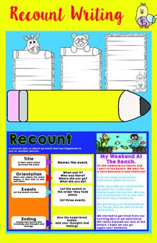 1000 ideas about recount writing on pinterest retelling activities second grade writing and. Black Bedroom Furniture Sets. Home Design Ideas