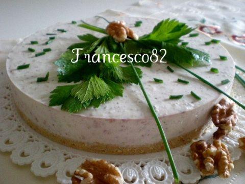 Cheesecake al gorgonzola