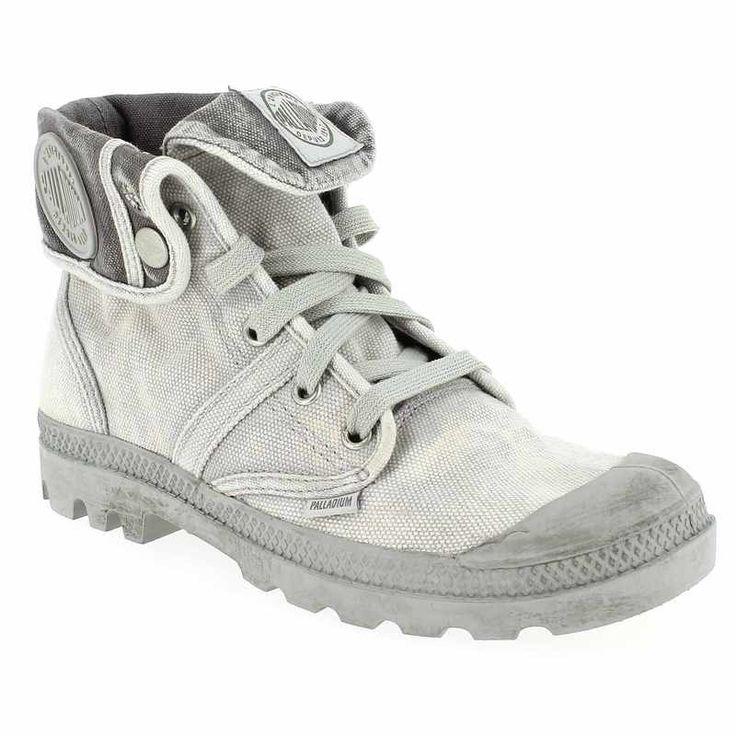 Chaussure Palladium US BAGGY LADY Gris 3361802 pour Femme | JEF Chaussures