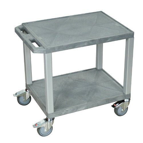 H. Wilson Tuffy School Maintenance Cart with Chrome Casters Gray and Nickel Product Dimensions : 24 W x 18 D x 24 12 H. Color : Gray and Nickel. Weight : 22 lbs. Size : Small.  #HWilson #Home