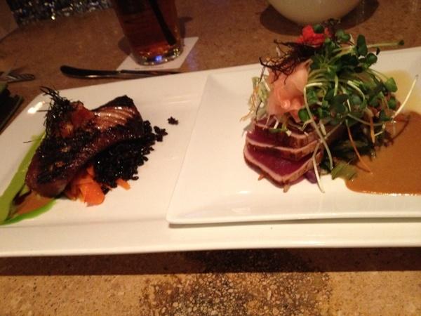 Roy's Waikiki, Butterfish and Ahi Tuna