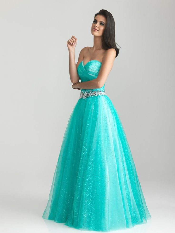 10  images about turquoise prom dresses on Pinterest - Turquoise ...