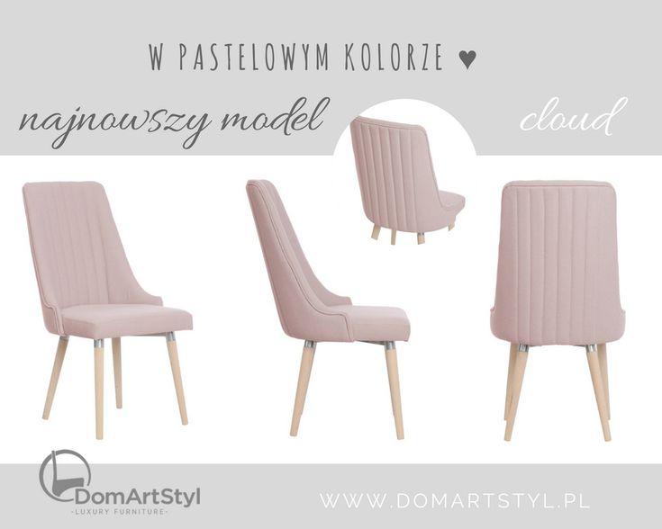 Jeden z naszych najonowszych modeli - krzesło Cloud! Znajdziesz je na naszej stronie internetowej wśród wielu innych nowych modeli.  #chair #krzesło #new #pink #thinkpink #cloud #inspiration #furnitureonline #furnituredesign #furniture #interiorinspiration #getinspired #design #designforyou #homedecor #meble #producent #manufacturer