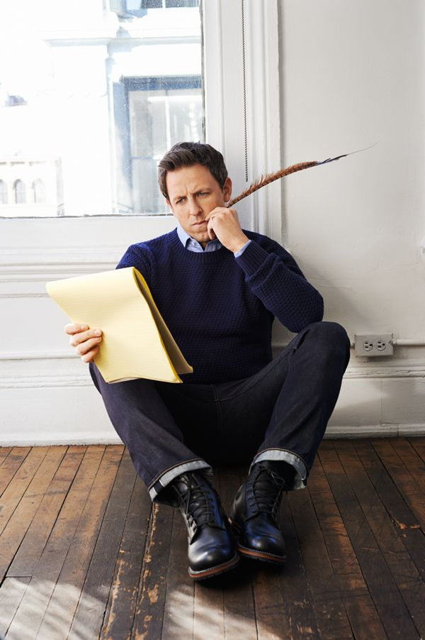 Seth Meyers # actor, writer now what?   We're waiting too?!
