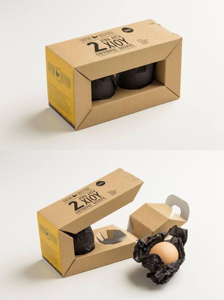 Maria Romanidou & Natalie Poulman - Pafylida Farm Packaging Range / Egg Packaging #Packaging #Design  — World Packaging Design Society / 世界包裝設計社會 / Sociedad Mundial de Diseño de Empaques
