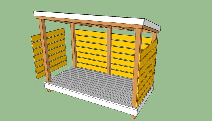 17 best images about firewood storage shed on pinterest for Steel shed plans free