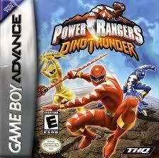 Power Rangers Dino Thunder - Game Boy Advance Game